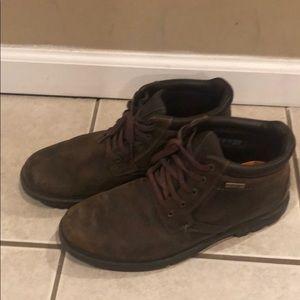 Rockport work shoes sz 9 hydro-shield waterproof